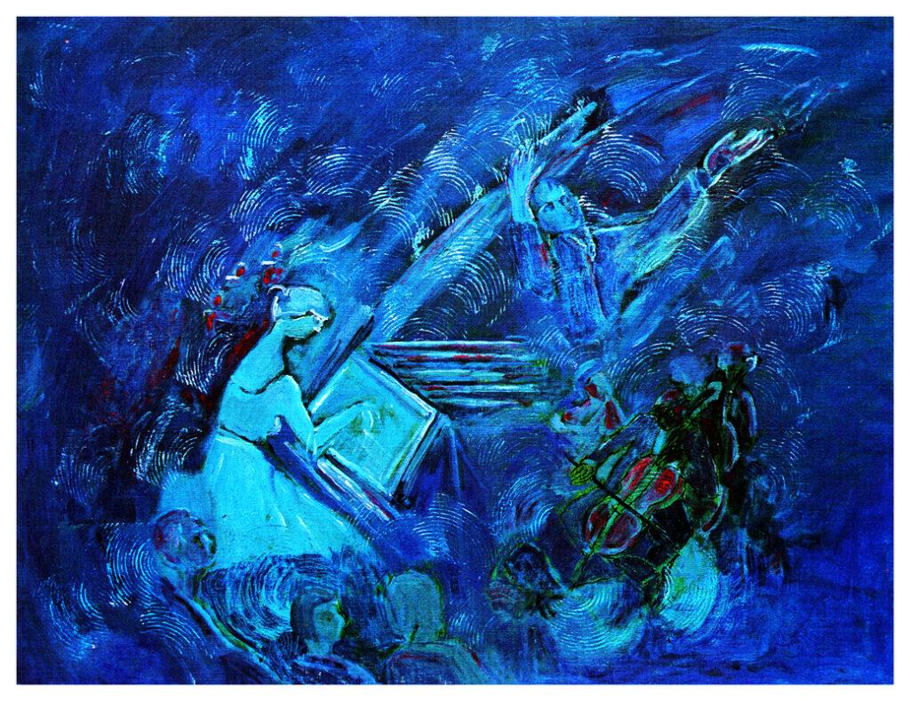 Blue Composition / Mavi Kompozisyon