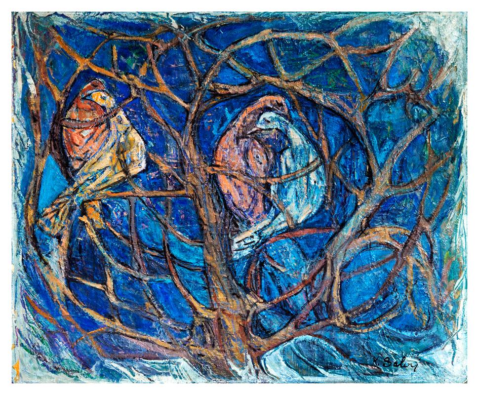 Lovers at the Tree / Agactaki Asiklar