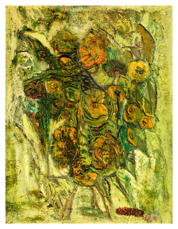 An Abstract of Flowers / Cicek Kompozisyon