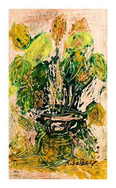Yellow Flowers / Sarili Cicekler