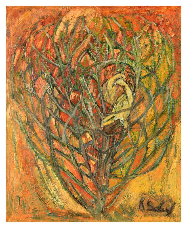 Lovebirds in a Bush / Yuvada Kus Sevgisi