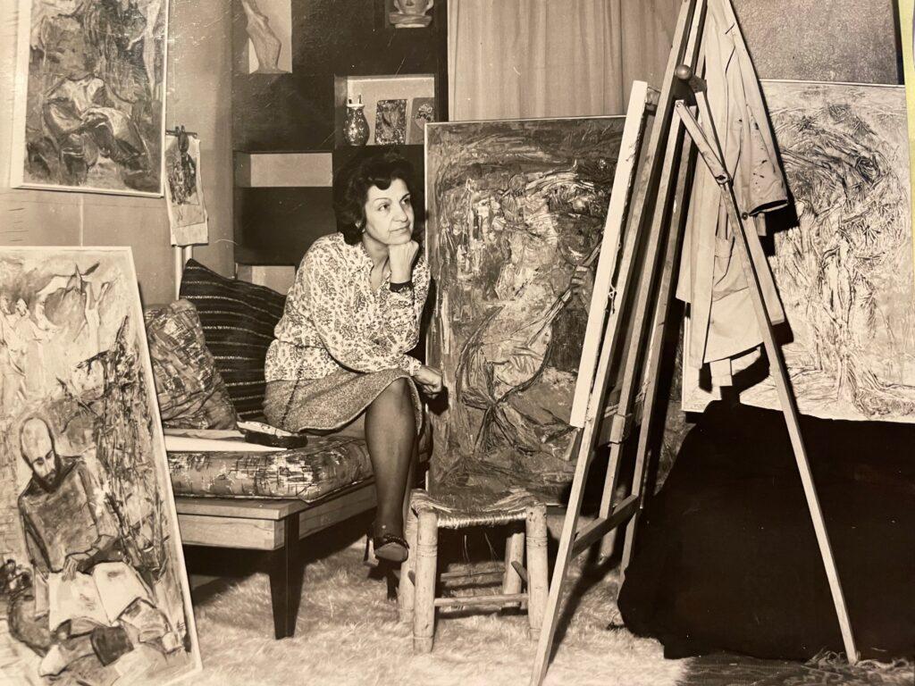 Kristin Saleri at the Saksi Sokak, Pangalti Studio