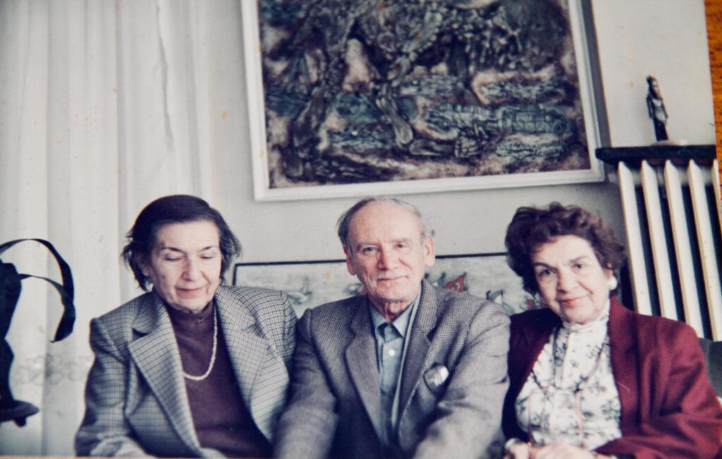 From left, Naile Akinci, Nuri Abac, Kristin Saleri