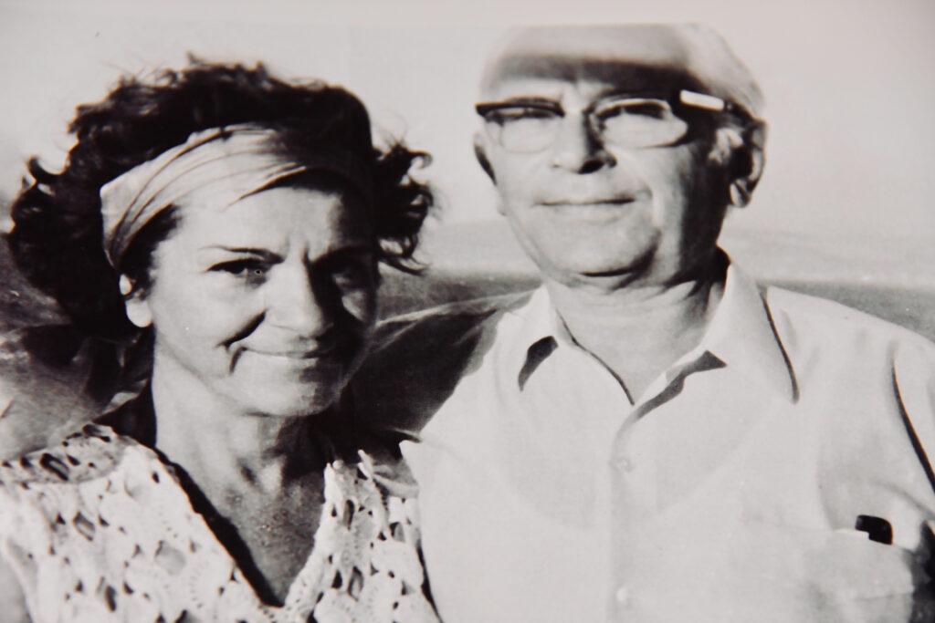 Kristin Saleri and Agop Saler