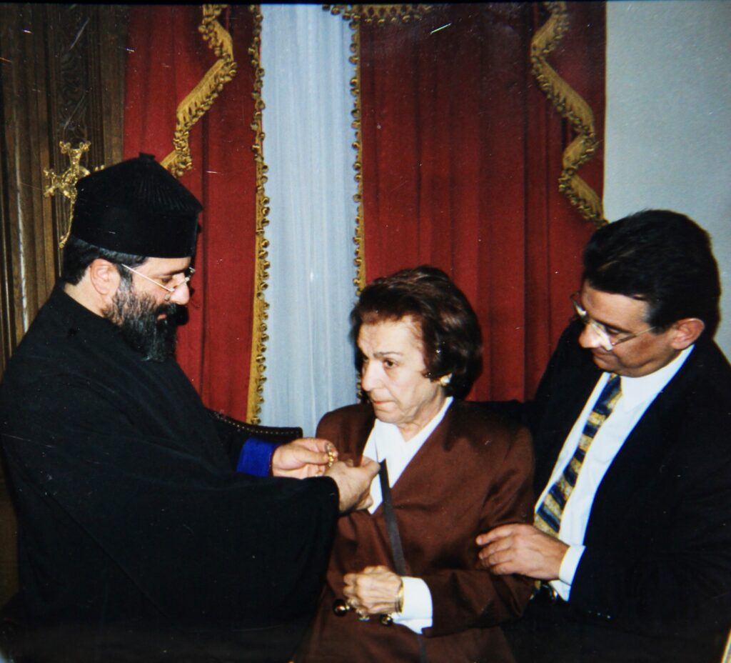 Kristin Saleri Armenian Patriarchate Award Ceremony