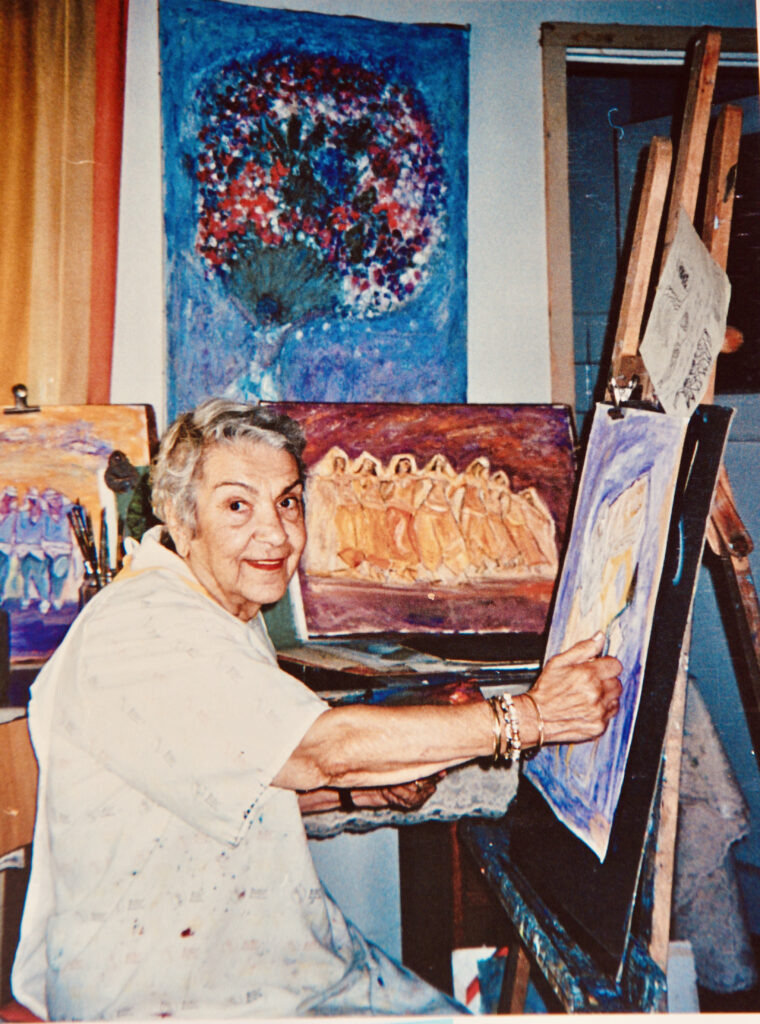 Kristin Saleri around 86 years old