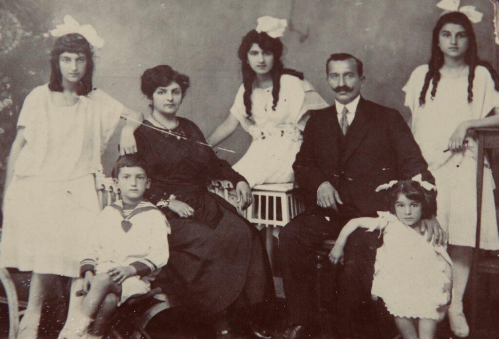 Onnig and Eftig Agopovitch Family