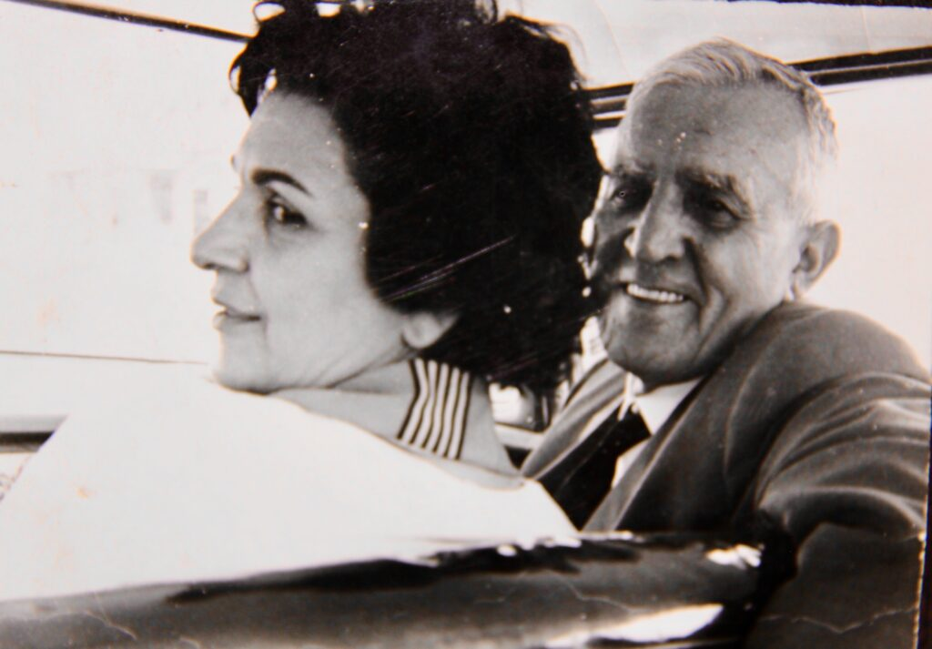Kristin Saleri and Krapus Chilingiryan